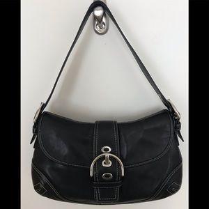 Coach Soho Buckle Flap Leather Bag - Style 10192